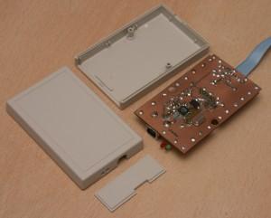 Внутренности JTAG ICE USB программатора