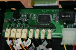 Внутренности контроллера