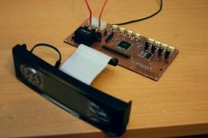 Новый котроллер вентиляторов с подключенным дисплеем