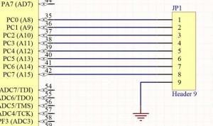 Схема логических входов