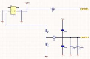 Схема M-Bus коннектора