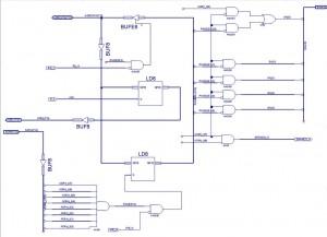 Селектор банков памяти в CPLD