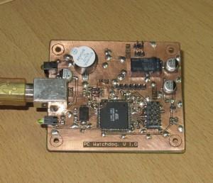 PCWatchdog Parts side
