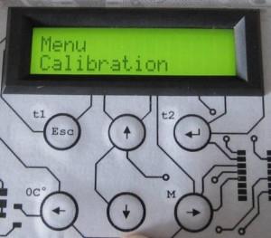 Menu Calibration